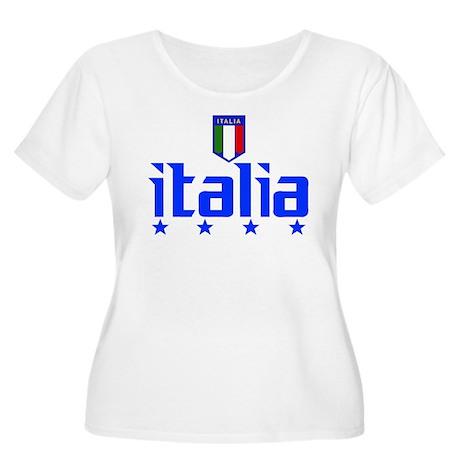 Italia soccer t-shirts 4 Star Italia shirt Women's
