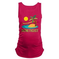 Retired Geneticist Maternity Tank Top