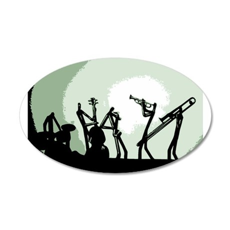 BANDMASTER300GREENSPOTLIGHT010414 Wall Decal