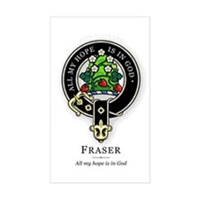 Clan Fraser Rectangle Decal