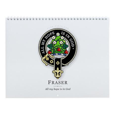 Clan Fraser Wall Calendar