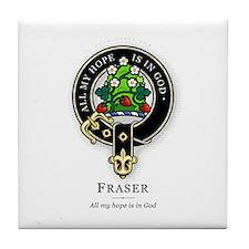 Clan Fraser Tile Coaster