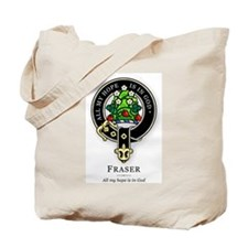 Clan Fraser Tote Bag