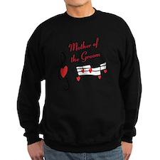 Mother Of Groom Music Notes Sweatshirt