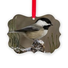 Black- Capped Chickadee Ornament