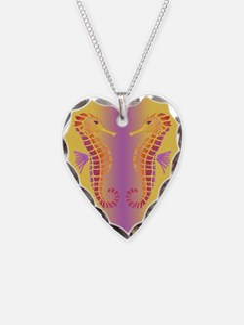 Tribal Seahorse Necklace