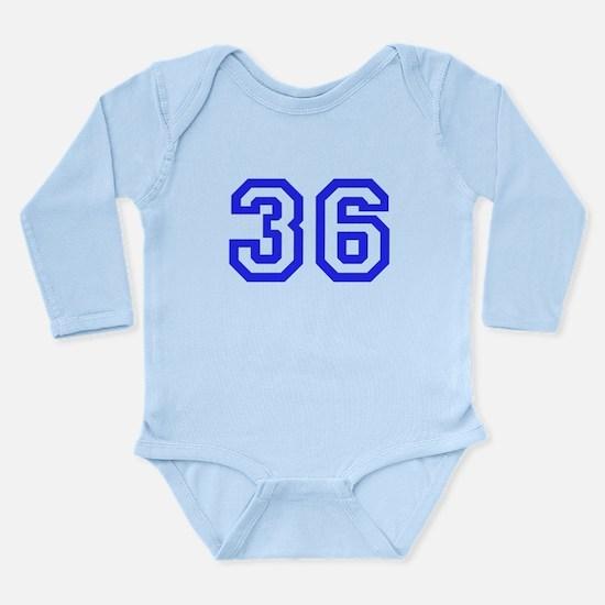 #36 Long Sleeve Infant Bodysuit