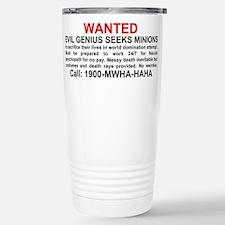 Cute Evil Travel Mug
