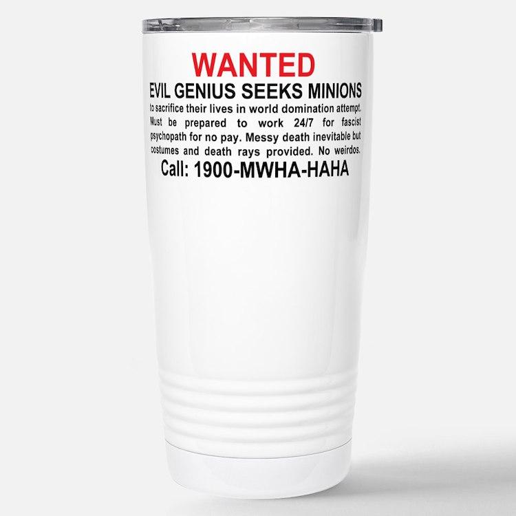 Cute Minions Travel Mug