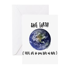 Save earth Greeting Cards (Pk of 10)