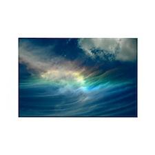 Blue sky Rectangle Magnet