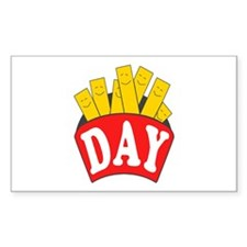 Fry Day Decal
