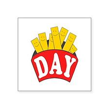 Fry Day Sticker
