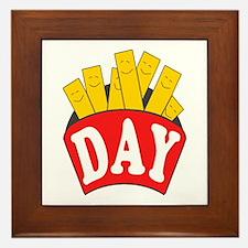 Fry Day Framed Tile