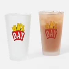 Fry Day Drinking Glass
