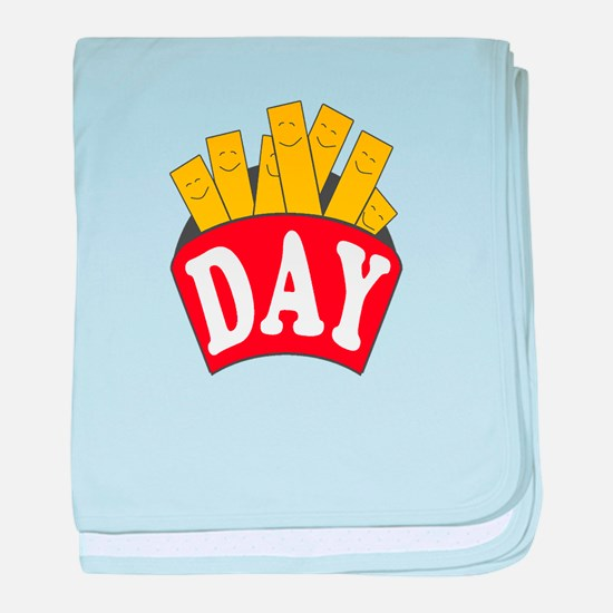 Fry Day baby blanket