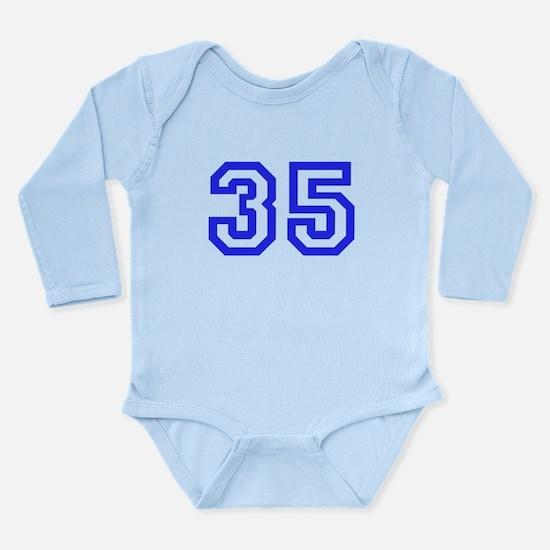 #35 Long Sleeve Infant Bodysuit