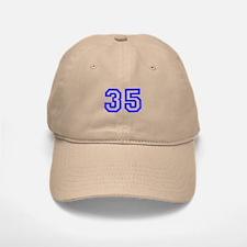 #35 Baseball Baseball Cap