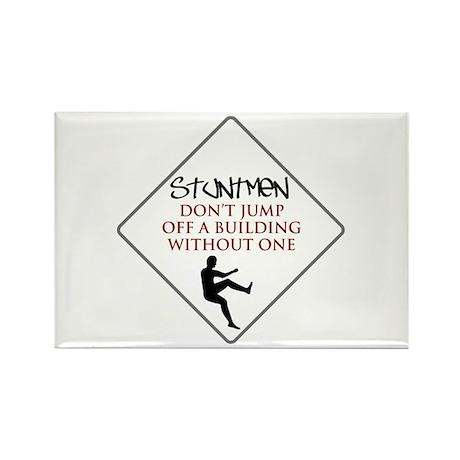 Stuntmen Design 1 Rectangle Magnet (10 pack)
