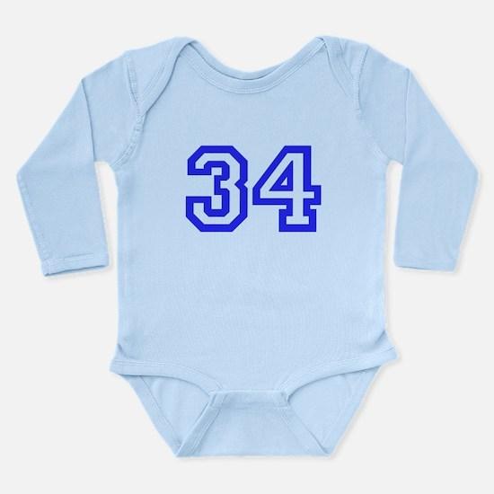 #34 Long Sleeve Infant Bodysuit