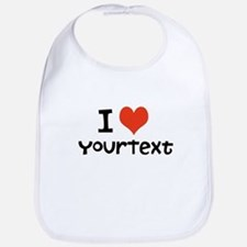 CUSTOMIZE I heart Bib