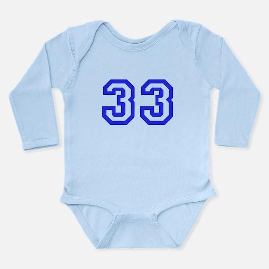 #33 Long Sleeve Infant Bodysuit