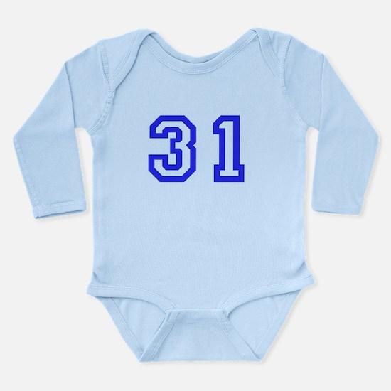 #31 Long Sleeve Infant Bodysuit
