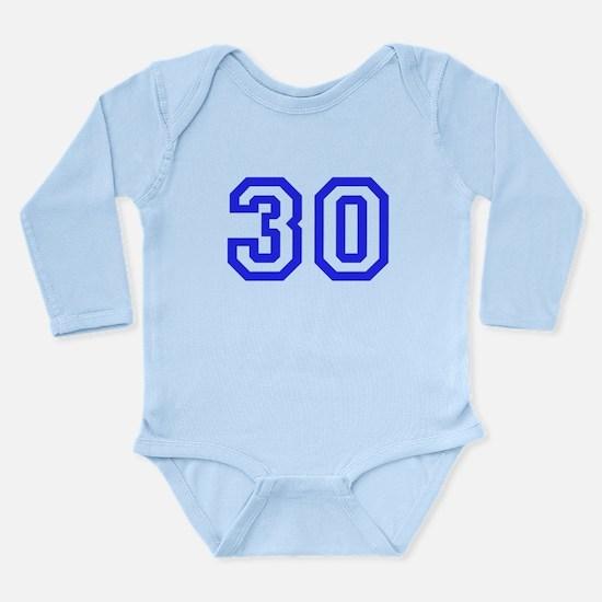 #30 Long Sleeve Infant Bodysuit