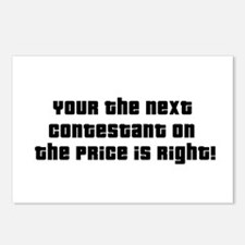 Price Is Right Postcards (Package of 8)