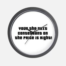 Price Is Right Wall Clock