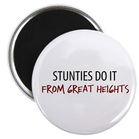 """Great Heights Stuntie 2.25"""" Magnet (10 pack)"""