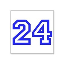 "#24 Square Sticker 3"" x 3"""