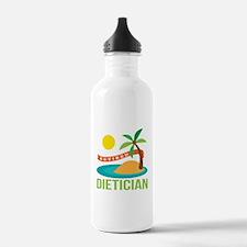 Retired Dietician Water Bottle