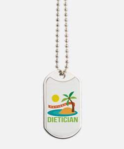 Retired Dietician Dog Tags