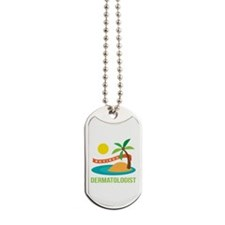 Retired Dermatologist Dog Tags