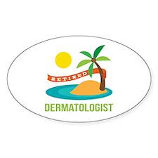 Retired Dermatologist Decal