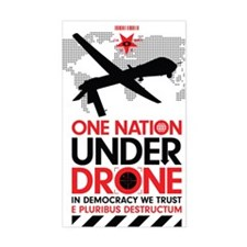 One Nation Under Drone Decal