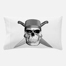 Skull Chef Knives Pillow Case