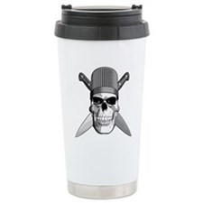Skull Chef Knives Travel Mug