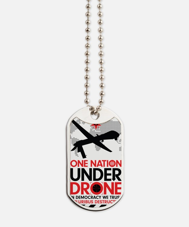 One Nation Under Drone Dog Tags