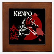 Kenpo Fighting Framed Tile
