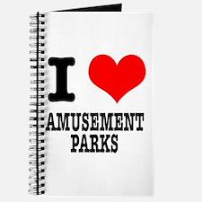 I Heart (Love) Amusement Parks Journal