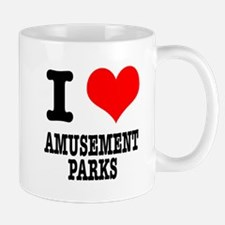 I Heart (Love) Amusement Parks Mug