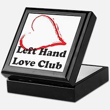 Left Hand Love Club Keepsake Box