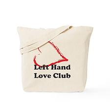 Left Hand Love Club Tote Bag