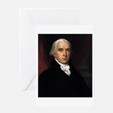 James Madison Greeting Card