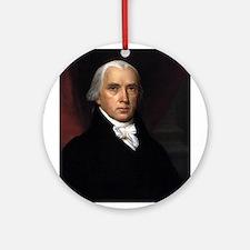 James Madison Ornament (Round)
