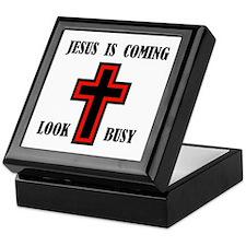JESUS IS COMING Keepsake Box