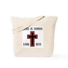 JESUS IS COMING Tote Bag