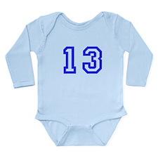#13 Long Sleeve Infant Bodysuit